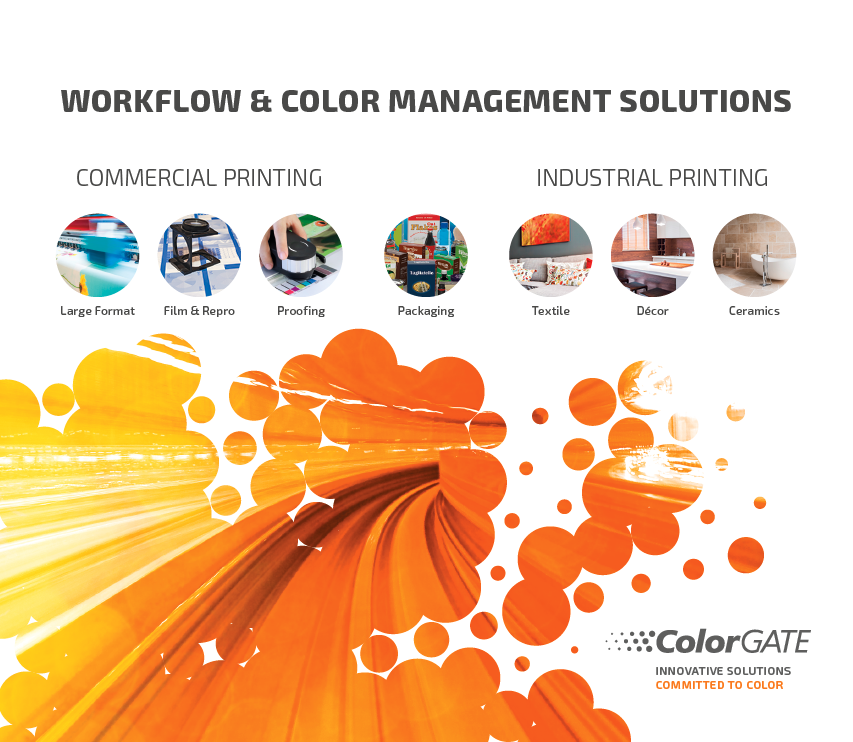 ColorGATE - Workflow & Color Management